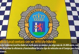 La Policía Local contará con un vehículo híbrido