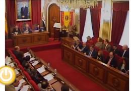 Pleno de noviembre de 2011 del Ayuntamiento de Badajoz