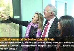 La historia documental del Teatro López de Ayala