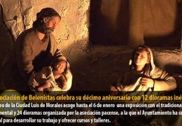 La Asociación de Belenistas celebra su décimo aniversario con 12 dioramas inéditos