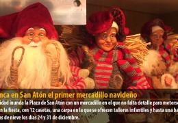 Arranca en San Atón el primer mercadillo navideño