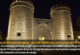 El `Plan de Eficiencia Energética´ ahorrará 50.000 euros en luz y más de 100.000 W en su consumo