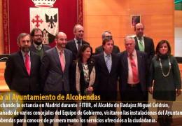 Visita al Ayuntamiento de Alcobendas