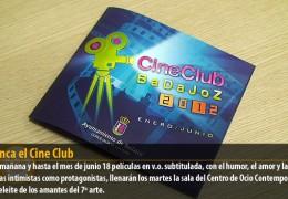 Arranca el Cine Club