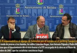 El GMS-R responsabiliza al equipo de Gobierno por el retraso en el parking Conquistadores