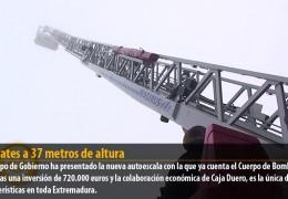 Rescates a 37 metros de altura