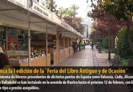 Arranca la I edición de la `Feria del Libro Antiguo y de Ocasión´