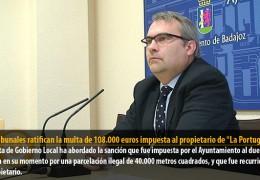 Los tribunales ratifican la multa de 108.000 euros impuesta al propietario de «La Portuguesa»