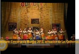 Actuación Las Cachorras (Preliminares 2012)