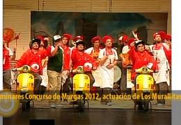 Actuación Los Murallitas (Preliminares 2012)