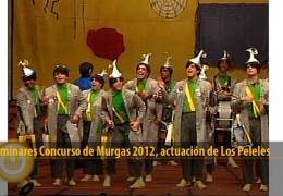 Actuación Los Peleles (Preliminares 2012)