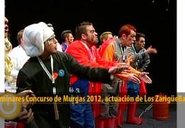 Actuación Los Zarigüellas (Preliminares 2012)