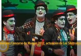 Actuación Los Sikitrakys (Preliminares 2012)