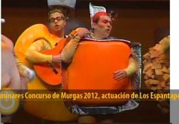 Actuación de Los Espantaperros (Preliminares 2012)