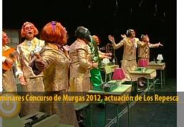 Actuación de Los Repesca (Preliminares 2012)
