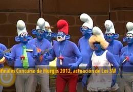 Actuación de Los 3W (Semifinales 2012)