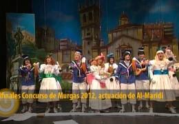 Actuación de Al-Maridi (Semifinales 2012)