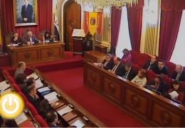 Pleno de febrero de 2012 del Ayuntamiento de Badajoz