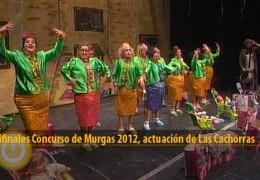 Actuación de Las Cachorras (Semifinales 2012)