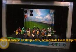 Actuación de Ese es el espíritu (Semifinales 2012)