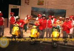 Actuación de Los Murallitas (Final 2012, 2º puesto)