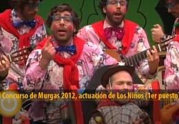 Actuación de Los Niños (Final 2012, 1er puesto)
