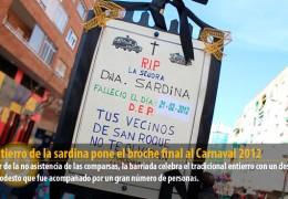 El entierro de la sardina pone el broche final al Carnaval 2012