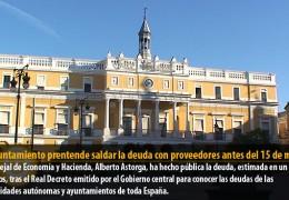 El Ayuntamiento prentende saldar la deuda con proveedores antes del 15 de marzo