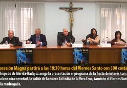 La Procesión Magna partirá a las 18:30 horas del Viernes Santo con 500 costaleros