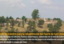 Inicio de los trámites para la rehabilitación del Fuerte de San Cristobal