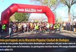 Dominio portugués en la Maratón Popular Ciudad de Badajoz