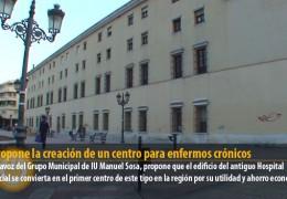 IU propone la creación de un centro para enfermos crónicos