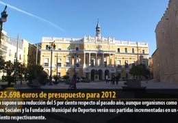 94.525.698 euros de presupuesto para 2012