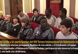 Celdrán recibe a los participantes del VIII Torneo Internacional de Baloncesto Juvenil