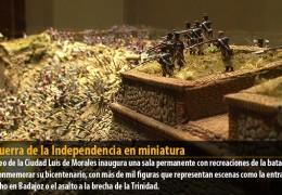 La Guerra de la Independencia en miniatura