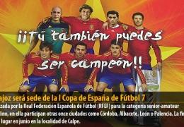 Badajoz será sede de la I Copa de España de Fútbol 7