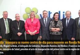 `Vitalia´ inaugura su nuevo centro de día para mayores en Ronda Norte