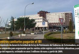 Los centros sanitarios pagarán el IBI