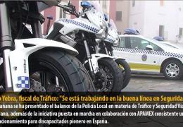 Diego Yebra, fiscal de Tráfico: «Se está trabajando en la buena línea en Seguridad Vial»