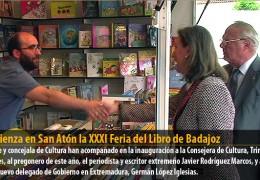 Comienza en San Atón la XXXI Feria del Libro de Badajoz