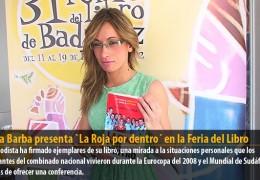 Silvia Barba presenta `La Roja por dentro´ en la Feria del Libro