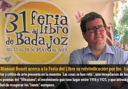 Juan Manuel Bonet acerca a la Feria del Libro su reivindicación por los `ismos´