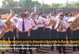 El GMS-R pide mejoras para la situación laboral de la Banda Municipal
