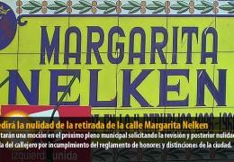 IU pedirá la nulidad de la retirada de la calle Margarita Nelken