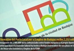 El plan formativo del Pacto Local por el Empleo de Badajoz recibe 2.252 solicitudes