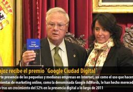 Badajoz recibe el premio `Google Ciudad Digital´