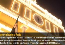 Badajoz ya huele a Feria