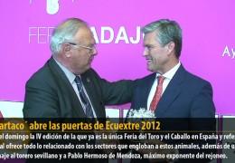 `Espartaco´ abre las puertas de Ecuextre 2012