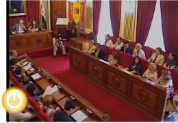 Pleno extraordinario de junio de 2012 del Ayuntamiento de Badajoz