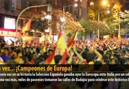 Otra vez… ¡Campeones de Europa!